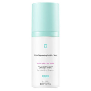 TOSOWOONG SOS Tightening PORE Clinic Witch Hazel Pore Toner 80ml